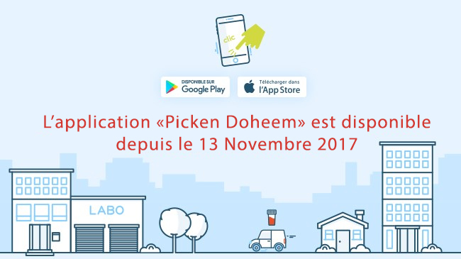L'application PickenDoheem sera disponible dès le 13 novembre 2017
